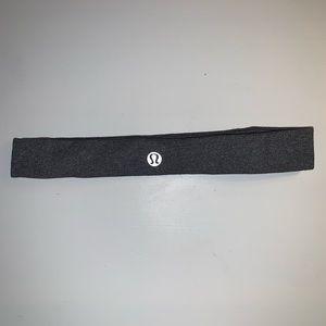 Light Gray Thin lululemon Headband